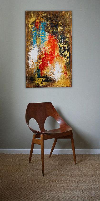 Obraz w nowoczesnym stylu na ścianie