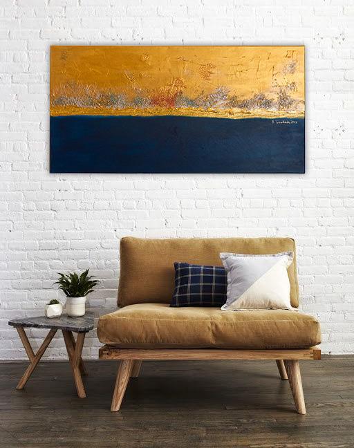 Obraz wykonany w stylu nowoczesnym zdobiący ścianę