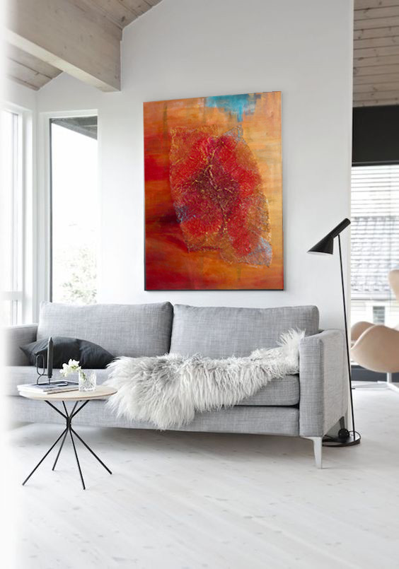 Współczesny obraz do salonu